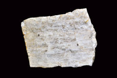 Feldspar. It is one of the most abundant minerals, it is often part of rocks such as granite Stock Photos