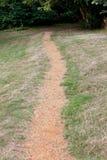 Feldweg in der britischen Landschaft Stockfotos