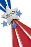 Felice il quarto luglio Fotografia Stock