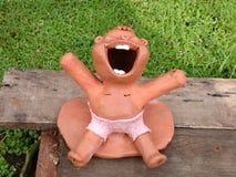 Felice nel koomwimandin Fotografie Stock