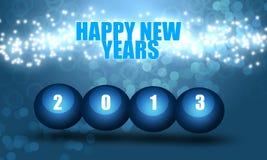 Felices Año Nuevo 2013 Imagen de archivo