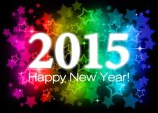 2015 Felices Año Nuevo Fotos de archivo