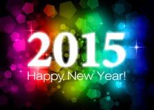 2015 Felices Año Nuevo Fotos de archivo libres de regalías