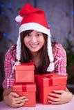Felices chrismas Fotografía de archivo libre de regalías
