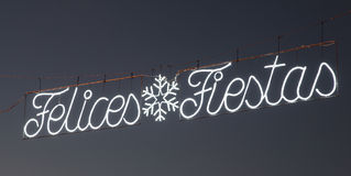 Felices Fiestas - Happy Holidays Royalty Free Stock Photo