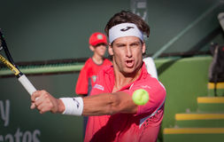 Feliciano Lopez at the 2010 BNP Paribas Open Stock Images