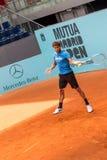 Feliciano Lopez jouant le tennis Photos libres de droits