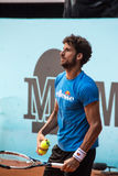 Feliciano Lopez playing tennis Stock Photography