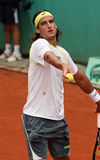Feliciano Lopez at Roland Garros Royalty Free Stock Images