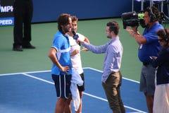 Feliciano Lopez y Mark Lopez Fotos de archivo