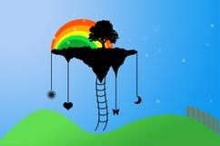 Felicidad libre illustration