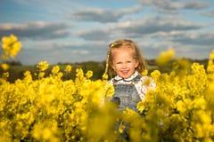 Felicidad de la primavera Imagen de archivo libre de regalías