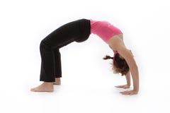 Felicidad de la yoga Foto de archivo libre de regalías
