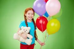 Felicidad del cumpleaños Imagen de archivo