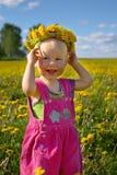 Felicidad del verano Imagen de archivo libre de regalías