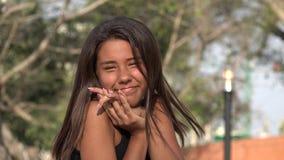 Felicidad y adolescencias bonitas almacen de metraje de vídeo