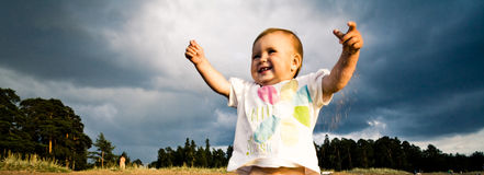Felicidade Imagem de Stock Royalty Free