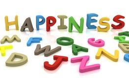 felicidade ilustração stock