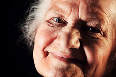 Felicidade da idade avançada Foto de Stock Royalty Free