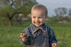 Felicidade das crianças Imagens de Stock Royalty Free