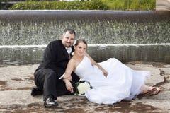 Felicidade do casamento Imagens de Stock Royalty Free