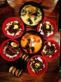 Felicidade do jantar dos Ramen foto de stock royalty free