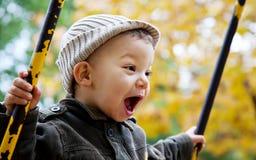 Felicidade e liberdade Fotos de Stock