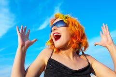 Felicidade pura! Imagens de Stock Royalty Free