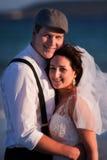 Felicidade Wedded Imagens de Stock Royalty Free