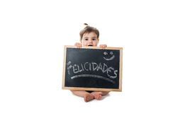 Felicidades ! Images stock