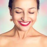 Felicità - è bella!!! Fotografie Stock Libere da Diritti