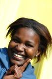 Felicità africana Fotografie Stock