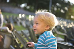 Felicità del bambino Immagini Stock Libere da Diritti