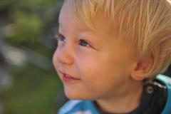 Felicità del bambino Fotografia Stock