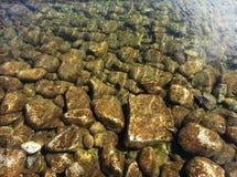 Felicità del fiume Fotografie Stock