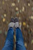 Felicità di essere un bambino Fotografie Stock