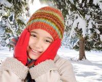 Felicità di inverno Fotografie Stock