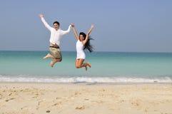 Felicità di vita Fotografia Stock