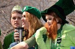 Felicità irlandese Immagini Stock Libere da Diritti