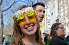 Felicità irlandese Fotografia Stock Libera da Diritti