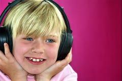 Felicità musicale Fotografie Stock