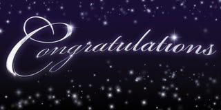 Felicitações Foto de Stock Royalty Free