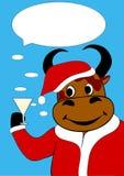 Felicitações do touro Imagem de Stock Royalty Free