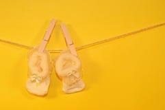 Felicitações para recém-nascido Fotos de Stock Royalty Free