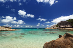 Felicite island. Seychelles Stock Photos