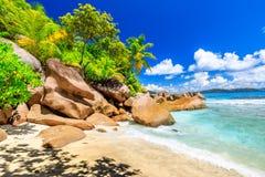 Felicite Island Seychelles fotos de stock