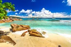 Felicite Island Seychelles fotografia de stock