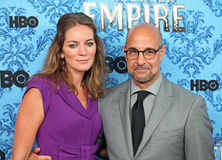 Felicity Blunt and Stanley Tucci Royalty Free Stock Images
