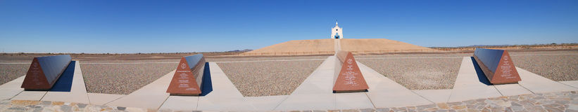 Felicity, California - Monuments and Church Royalty Free Stock Photography