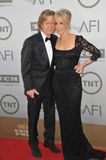 Felicity Huffman et William H macy Image stock